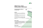 SINEAX TV819 Isolating Amplifier for Electrical Isolation of DC Signals - Data Sheet