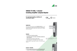 SINEAX TV808-11 Isolating Amplifier for Electrical Isolation of DC Signals - Data Sheet