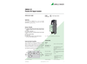SINEAX 2I1  Passive DC Signal Isolator - Data Sheet