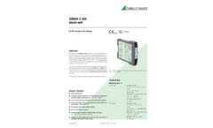 SINEAX C402 Alarm Unit - Data Sheet