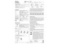 SINEAX TP619 Potentiometric Signal Converter - Operating Instructions