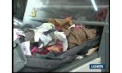 Cutter, Shredder, Chopper, Crusher for Textile Recycling Video
