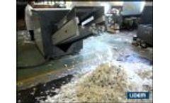 Cutter, Shredder, Chopper, Crusher or Primary Granulator for Plastic Recycling Video