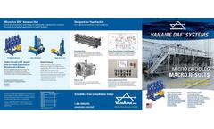 VanAire - Dissolved Air Flotation (DAF) - Brochure