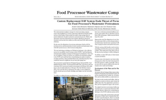 Food Processor Wastewater Compliance