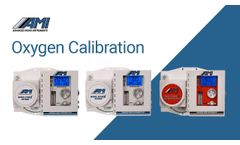 AMI Oxygen Calibration - Video