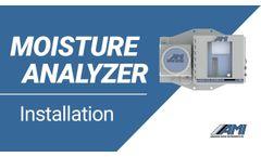 Moisture Analyzer - Installation Video