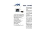 AMI - Model 221R w/Remote - Standard Oxygen Deficiency Monitor - Brochure