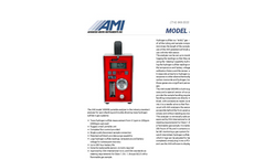 AMI - Model 3000RS - Portable Hydrogen Sulfide Analyzers - Brochure