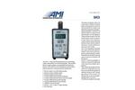 AMI - Model 111 - Portable Ultra-Stable Percent Oxygen Analyzer - Brochure