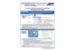 AMI Barracuda - Model 4010BR - Advanced TDL Trace Moisture Analyzer - Brochure