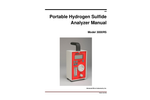 AMI - Model 3000RS - Portable Hydrogen Sulfide Analyzers - Manual