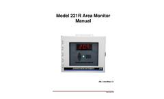 AMI - Model 221R - Area Monitor - Manual