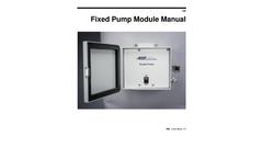 Fixed Pump Module - Manual