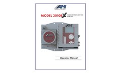 AMI 3010BX Permanent Mount Trace Hydrogen Sulfide Analyzer - Operator Manual