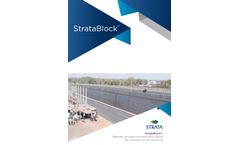 StrataBlock - Reinforced Soil Wall - Brochure
