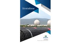 StrataBase - Geogrid Base Reinforcement - Brochure