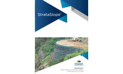 StrataSlope - Green-Faced, Environment Friendly Reinforced Soil Structure - Brochure