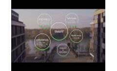 Smart Waste Management Using IOT - Real Benefits of Sensoneo Video