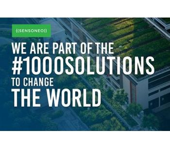 "Sensoneo has been awarded the ""Solar Impulse Efficient Solution"" Label"