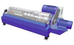 DecaPress - Model DP - Two-Phase Decanter Centrifuge