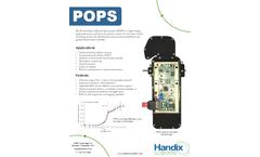 Handix - Portable Optical Particle Counter (POPS) Brochure