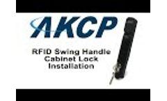 AKCP RFID Swing Handle Lock - Installation Video