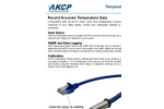 AKCP - Model TMPW15 - Water Resistan Temperature Sensor Brochure
