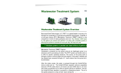 RET - Wastewater Treatment System (WWT) Brochure
