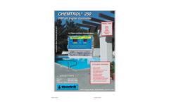 Chemtrol - Model 250 - ORP/pH Digital Controller Brochure