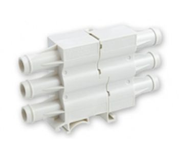 High Voltage Rectangular, DIN-Rail Mountable, Nylon