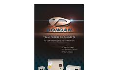Dongan - Lighting Disconnects Transformer Brochure