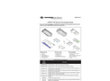 Coyote - Model SP3396 - Service Termination Point Fiber Optic Closures (STP) Brochure