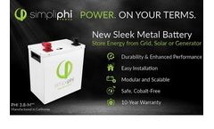 PHI Reimagined: Introducing Our New 3.8-M Battery Design
