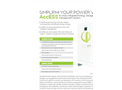 AccESS- Outback - Fully Integrated Energy Storage Unit Brochure