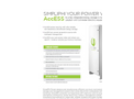 Access – Schneider - Fully Integrated Energy Storage and Management Unit Brochure