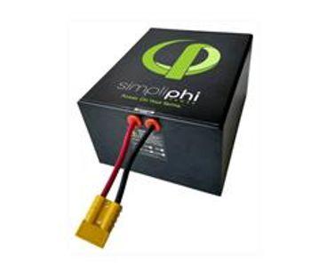 Simpliphi - Model PHI 1.2 - Deep-Cycle Lithium Ferro Phosphate (LFP) High Output Battery