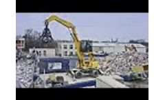 BeiYi Orange Peel Steel Scrap Metal Excavator Hydraulic Grab Video