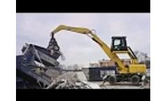 BEIYI Excavator Steel Scrap Grabbing Machine Hydraulic Scrap Grapple Video
