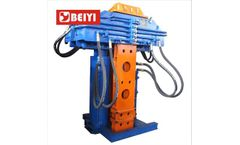 Beiyi - Model BYPM300LS - Construction Site Crane Used Sheet Pile Pulling Machine