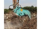 Beiyi - Model BY-HC150 - Rotated Concrete Demolition Pulverizer
