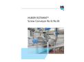 Huber - Model Ro8 / Ro8 T - Screw Conveyor Brochure