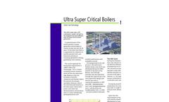 BWSC - Ultra Super Critical Boilers Brochure