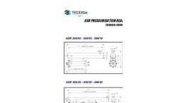 Tecexsa - Model ASR - Micro-Bubble Generator Reactor  Technical Datasheet