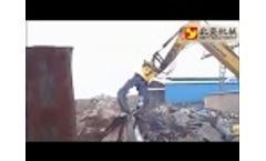 Application of hydraulic grapple