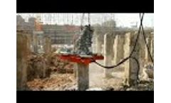 Application of Hydraulic Pile Breaker