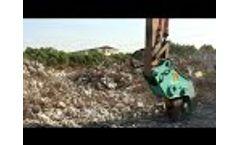 Application of Hydraulic Pulverizer