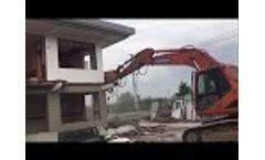 use of hydraulic pulverizer