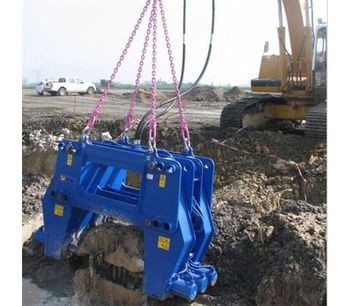 Hydraulic Pile Breaker / pile cutter pile breaking machine for round concrete piles-4