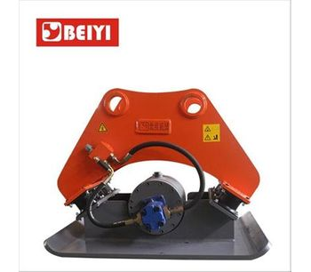 Lydite - Model BYKC150 - Construction excavator hydraulic vibrating plate compactor for sale with hydraulic power